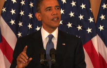 Obama on America's role in Middle East