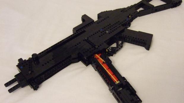 Awesome Lego Machine Gun