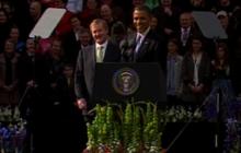Obama speaks Gaelic in Ireland