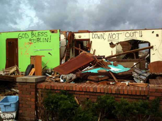 CBS News in Joplin, Mo., May 24-25, 2011