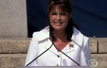 Palin's appearance at Rolling Thunder rally