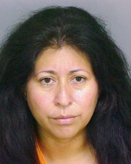 Calif. woman seen pushing body parts in trash can