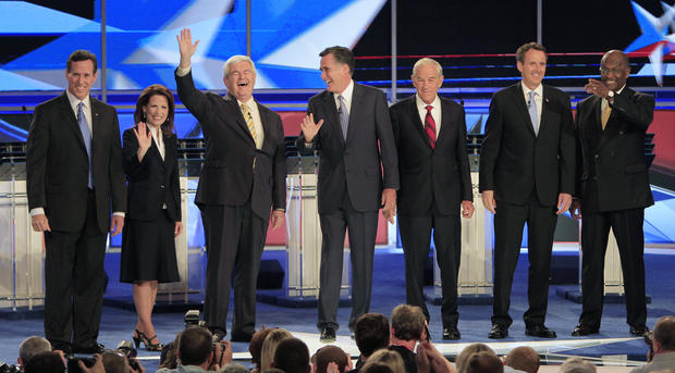 GOP presidential debate, June 13, 2011