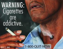 Cigarettes are addictive