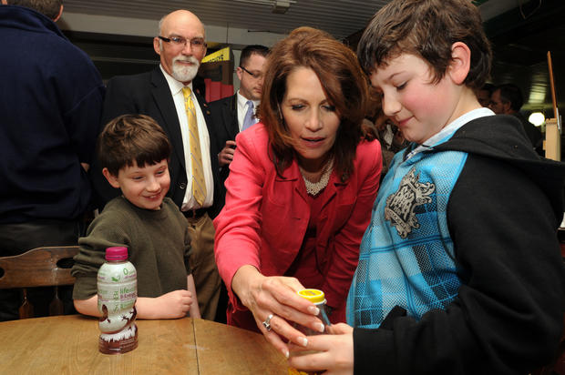 Michele Bachmann on the campaign trail