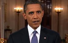 "Obama: ""Tide of war is receding"""