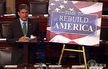 McCain, Manchin face-off on Afghan war