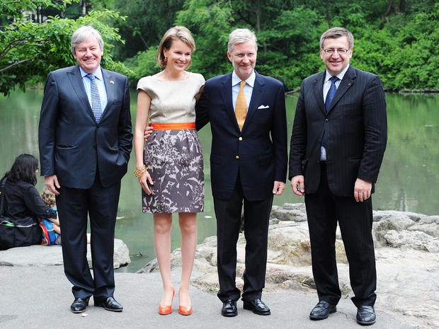 Belgian royals visit New York