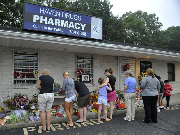 Husband, wife arrested in NY pharmacy murders