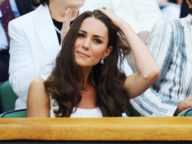 William and Kate at Wimbledon