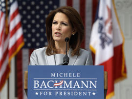 Iowa poll: Bachmann, Romney lead GOP race