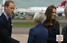 William, Kate to arrive in Canada