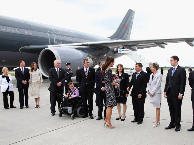 William and Kate kick off Canada tour