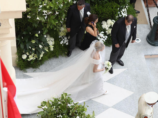 Monaco's royal wedding: The religious ceremony