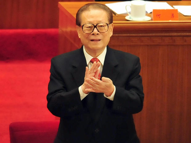 Former Chinese President Jiang Zemin