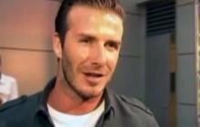 Feed: David Beckham welcomes daughter