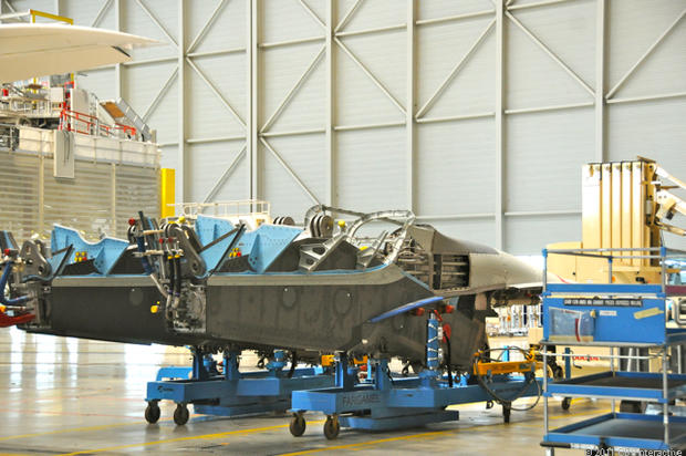 engine pylon assembling the airbus a380 pictures cbs