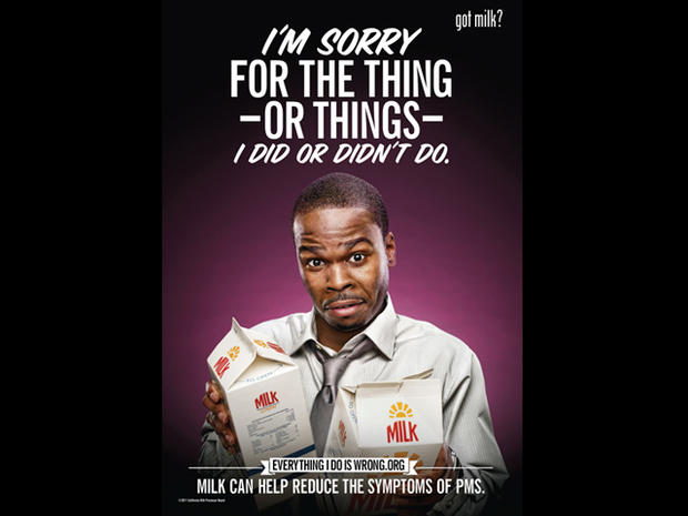 Got PMS? Get milk - 7 bold new ads