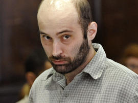 Levi Aron is arraigned in Brooklyn criminal court