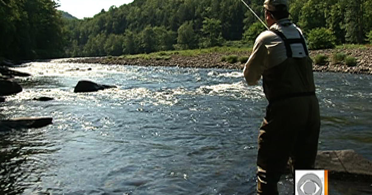 Roscoe ny named ultimate fishing town videos cbs news for Roscoe ny fishing