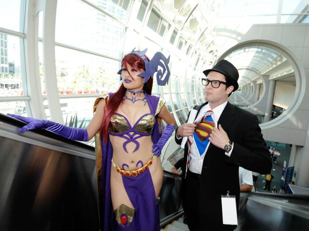 Scenes from Comic-Con 2011