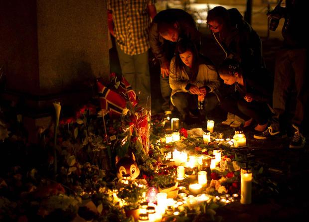 Norwegians unite in terror aftermath