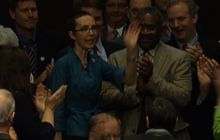 Rep. Giffords back in DC to vote