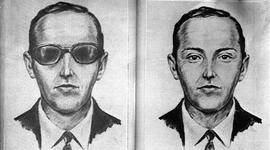 This is an artist's sketch of the skyjacker known as 'Dan Cooper' and 'D.B. Cooper', from the recollections of passengers and crew of a Northwest Orient Airlines jet he hijacked between Portland and Seattle, Nov. 24, 1971, Thanksgiving eve. 'Cooper' later parachuted from the plane with $200,000 in ransom money. Dead or alive, he has not been found.