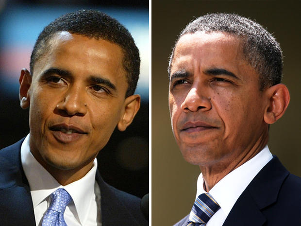 Obama getting older