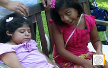 Formerly conjoined twins turn 10