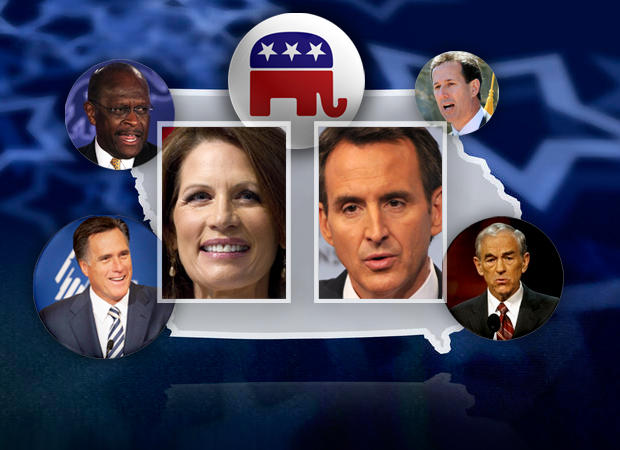 Bachmann and Pawlenty and rest of the GOP Field