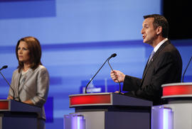 Tim Pawlenty and Michele Bachmann
