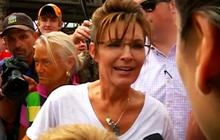Sarah Palin makes an appearance in Iowa
