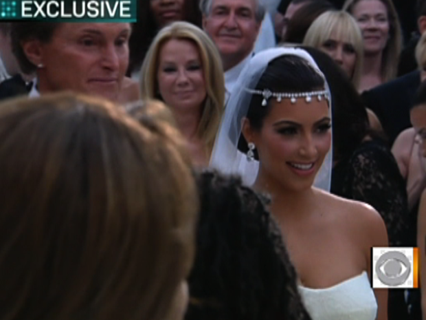 Kim Kardashian's fairytale wedding