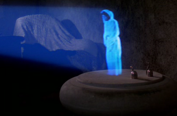 holographic projection science fiction true wellspring