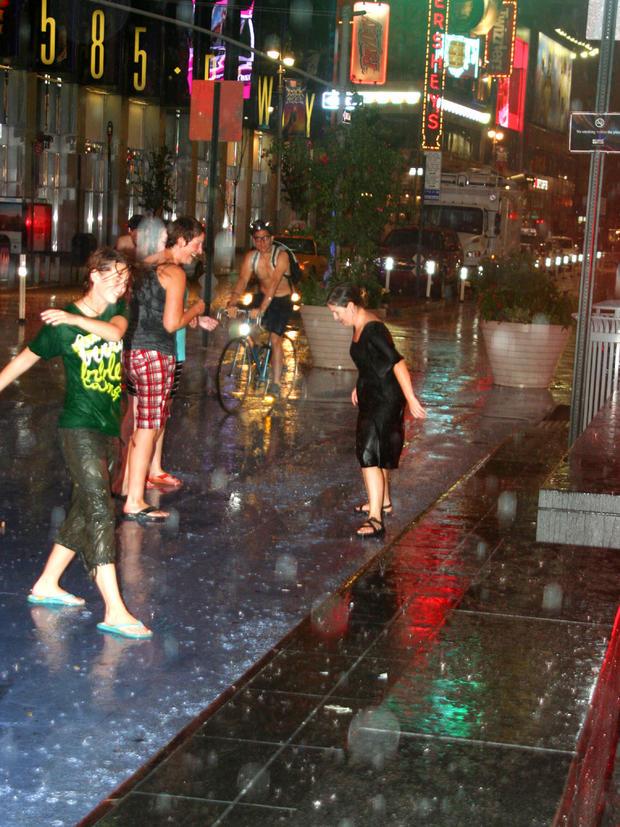 飓风艾琳时代广场