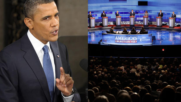 Barack Obama and Republican presidential candidates