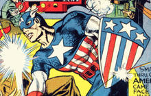 Comic book heroes then and now