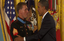 Obama awards Dakota Meyer Medal of Honor