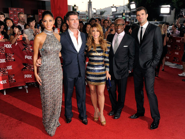 """X Factor"" on the red carpet"