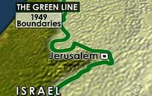 Unclear borders between Israel, Palestine