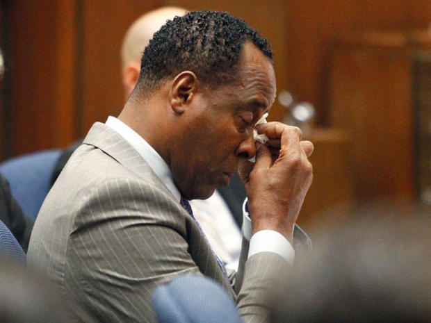 Scenes from the Conrad Murray trial