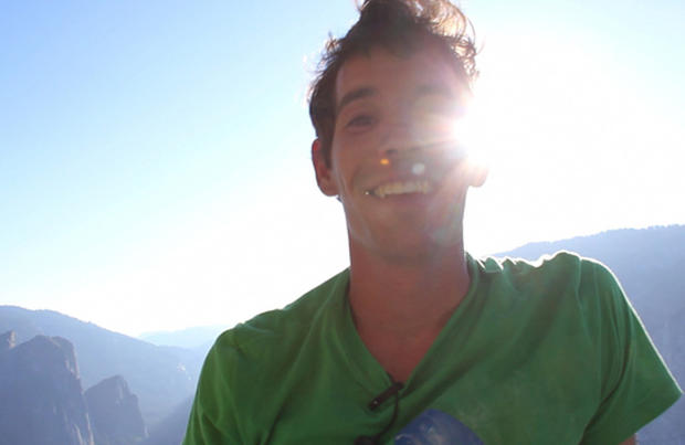 Documenting Alex Honnold's climb