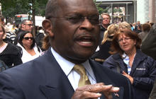 Cain: I'm not playing the race card