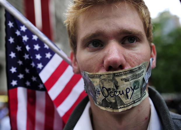 Wall Street protests spread