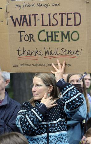 Anti-Wall Street protests, coast-to-coast