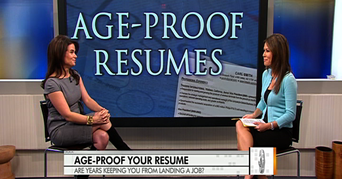 how to age-proof your resume - videos
