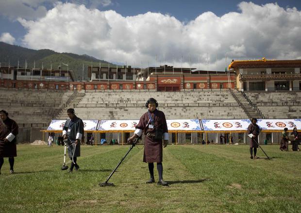 Bhutan prepares for a royal wedding