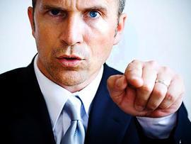 negotiator, boss, pointing, stern, firm, stock, 4x3, dealmaker