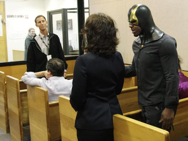 "Seattle ""superhero"" Phoenix Jones unmasked in court"